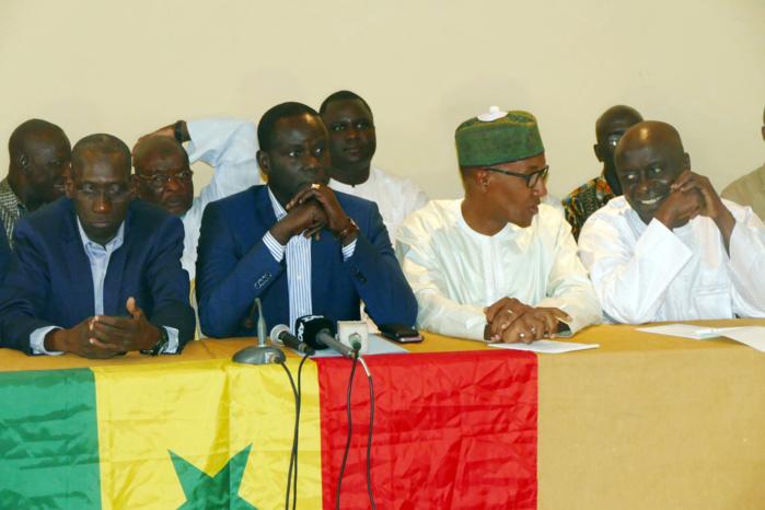 Leur itinéraire changé par le Préfet : Les leaders du Front Wattu Senegaal campent sur leur position