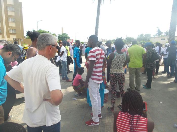 Les premières images de la marche du Front Wattu Senegaal