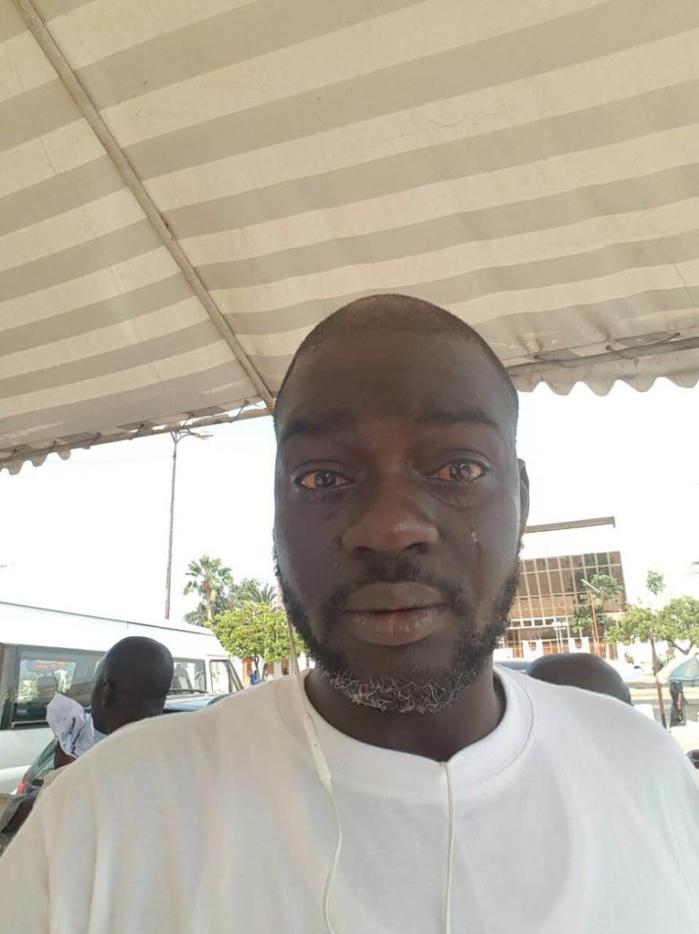 MANIFESTATION DE L'OPPOSITION : Victime d'un gaz lacrymogène, Alinard Ndiaye en larmes