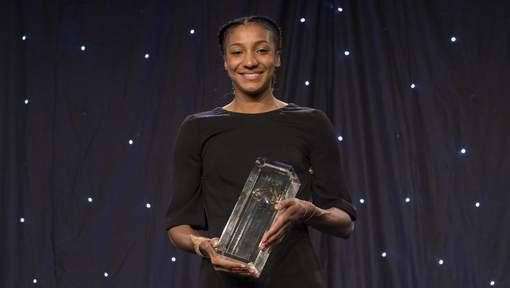 """Nafissatou Thiam remporte le trophée """"Rising star"""" de l'athlé européen"""