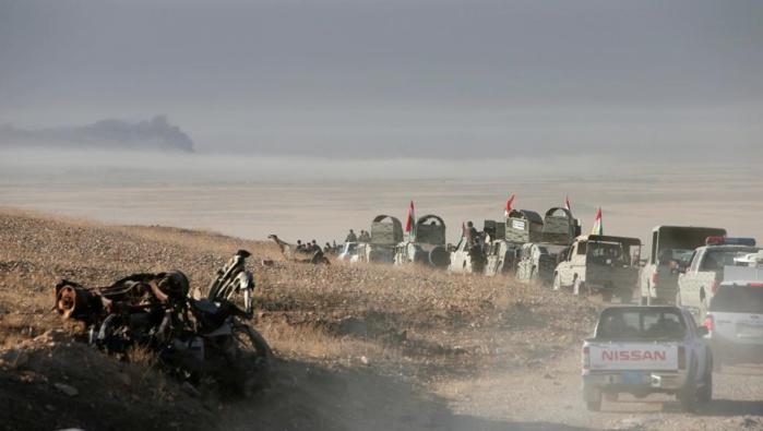 Irak: l'offensive pour reprendre Mossoul aux mains du groupe EI a commencé