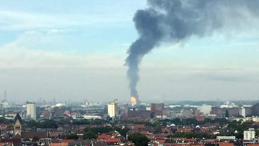 Allemagne : Explosion dans une usine chimique, plusieurs blessés et disparus
