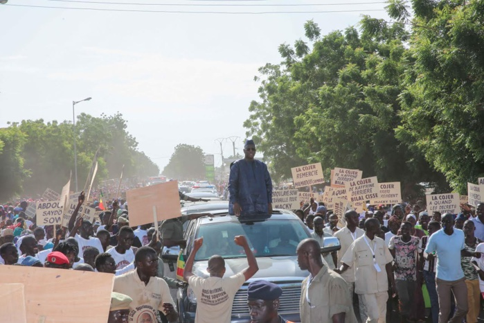 TOURNÉE ÉCONOMIQUE : Le président Macky Sall accueilli en fanfare