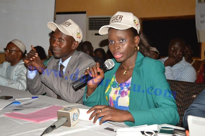 Les images du forum des jeunes de l ' APR axé sur les réalisations du Président Macky Sall à Kaolack