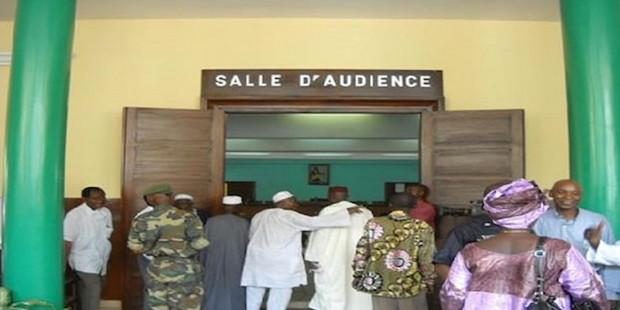 PROCES/Barthelemy Dias dans la salle d'audience : Khalifa Sall Thierno Bocoum, Idrissa Diallo et Malick Gakou en renfort