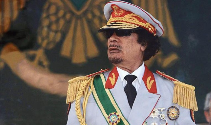 Image result for Mouammar Kadhafi (Libye)