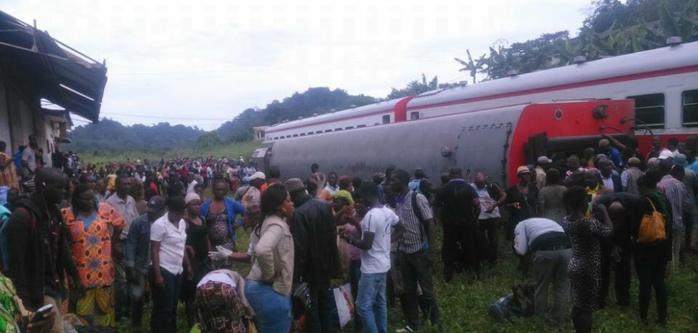Déraillement du train Intercity Douala-Yaoundé : 55 Morts, 575 Blessés, bilan provisoire