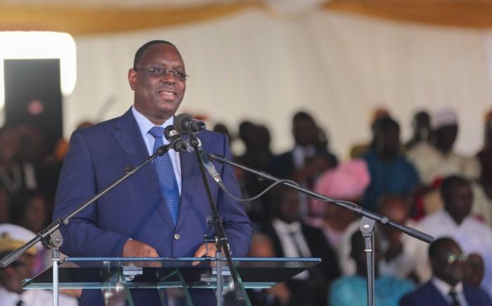 Discours de SEM Président de la république Macky Sall à l'occasion de l'inauguration de l'autoroute Diamniadio-AIBD-Sindia