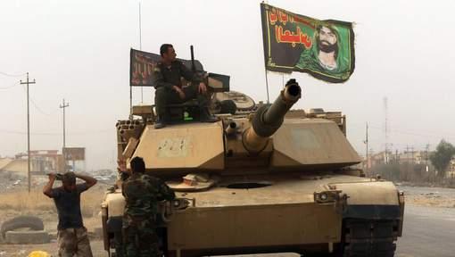 Tunnel, tranchées, talus: comment l'EI résiste à l'offensive sur Mossoul