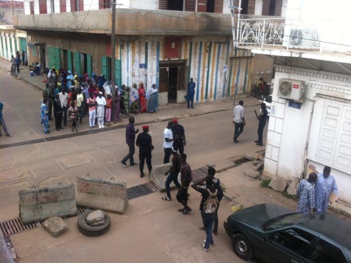 Palla MBENGUE vs Balla DIÈYE : Le tribunal départemental de Rufisque pris d'assaut par les militants des deux camps