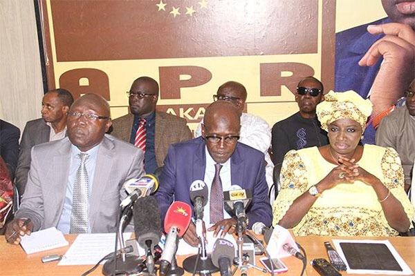 TOURNÉE ÉCONOMIQUE : L'APR félicite le président Macky Sall et souligne son attachement au monde rural