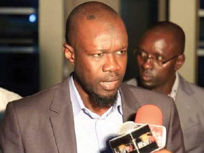 Assemblée Nationale :Ousmane Sonko interdit de parler aux journalistes