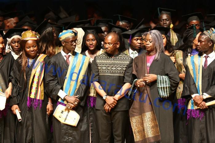 Les images de la cérémonie de graduation de l'IAM au Grand Théâtre National