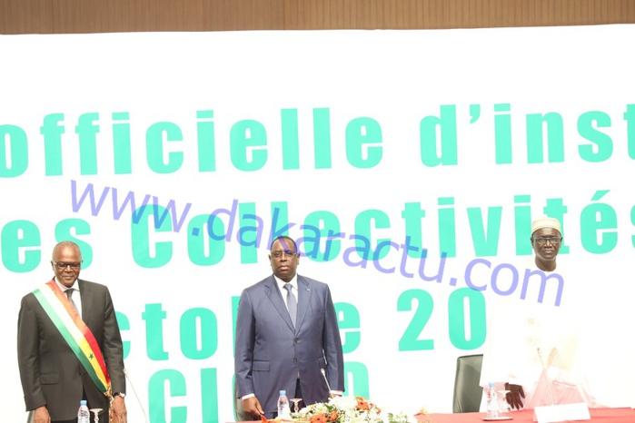 Les images de la cérémonie d'installation du Haut Conseil des Collectivités Territoriales (HCCT)