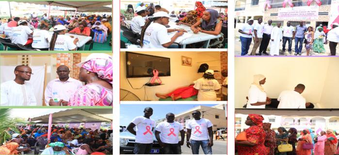 LUTTE CONTRE LE CANCER DU SEIN : Expresso Sénégal en collaboration avec Lisca pour donner au femmes la possibilité de se faire dépister gratuitement.