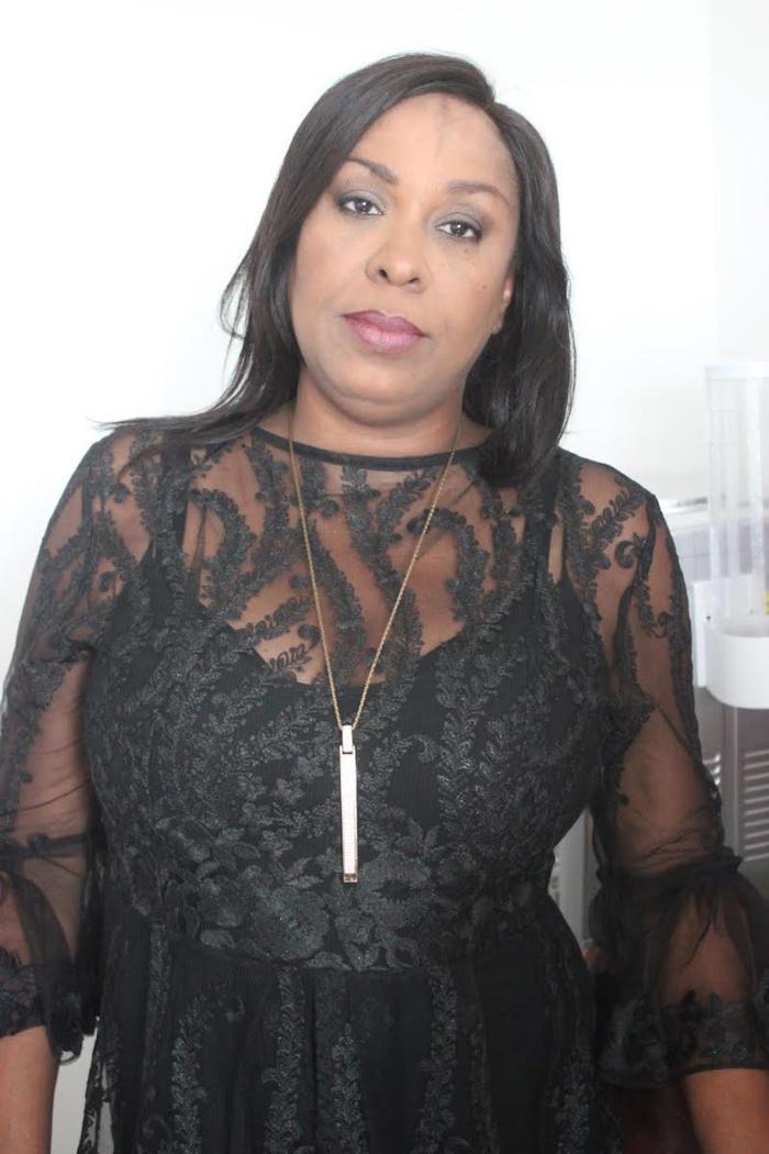 Jacqueline Fatima Bocoum, la Directrice de Communication de l'APIX toute ravissante dans sa belle tenue
