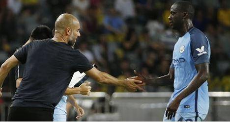 Après plusieurs mois de silence, Yaya Touré présente finalement ses excuses à Guardiola