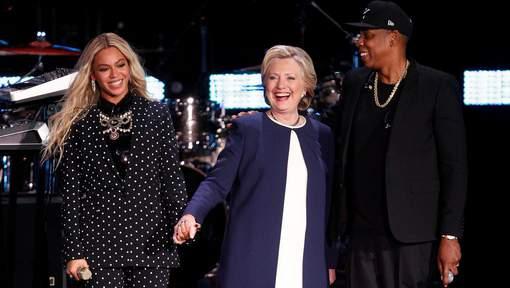 Beyoncé et Jay-Z mobilisés pour Hillary Clinton