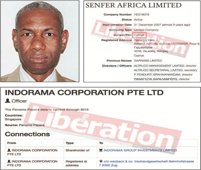 PANAMA PAPERS : Les Ics pillées depuis Nicosie par une société écran avec la complicité d'anciens dignitaires
