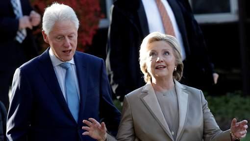 Hillary et Bill ont voté, deux militantes Femen arrêtées