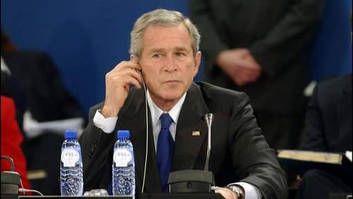 George W. Bush n'a pas voté pour Donald Trump, selon son porte-parole