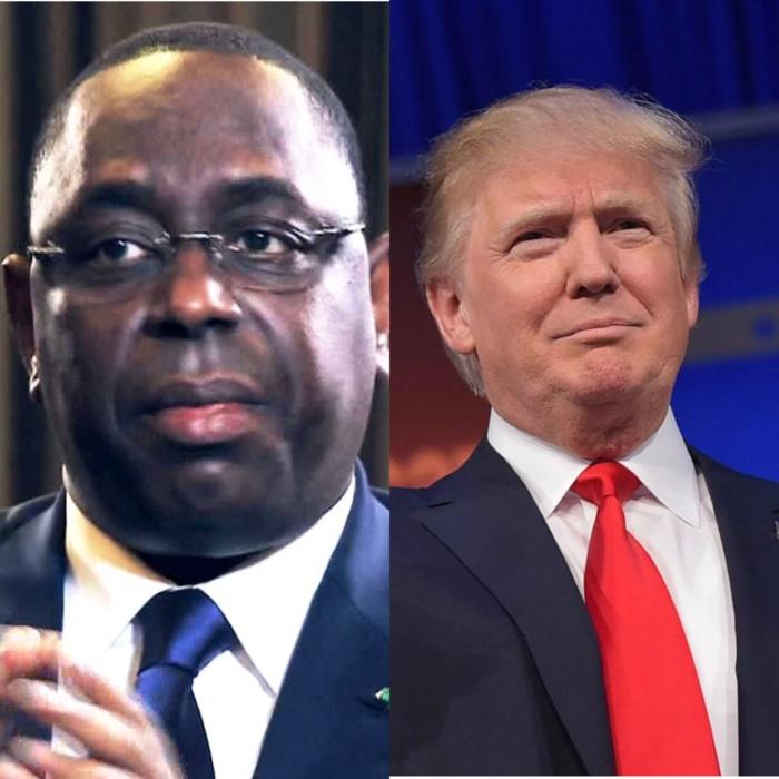 Le président de la République Macky Sall félicite Donald Trump