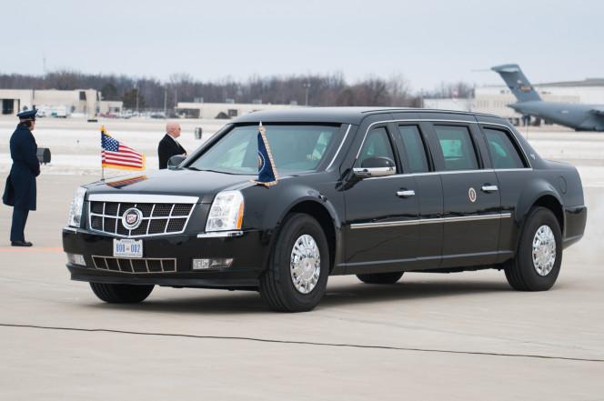 Voici la nouvelle voiture juste sortie de l'usine pour Donald Trump