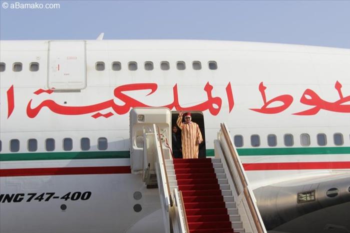 Le roi du Maroc Mohamed VI est rentré ce samedi
