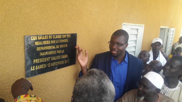 MBOUR : Le Conseil Départemental étrenne huit (8) nouvelles salles de classe à Guéréo et Guingnabour
