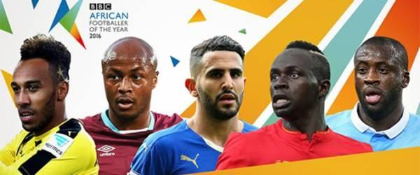 Sadio Mané parmi les cinq joueurs africains de l'année de la BBC