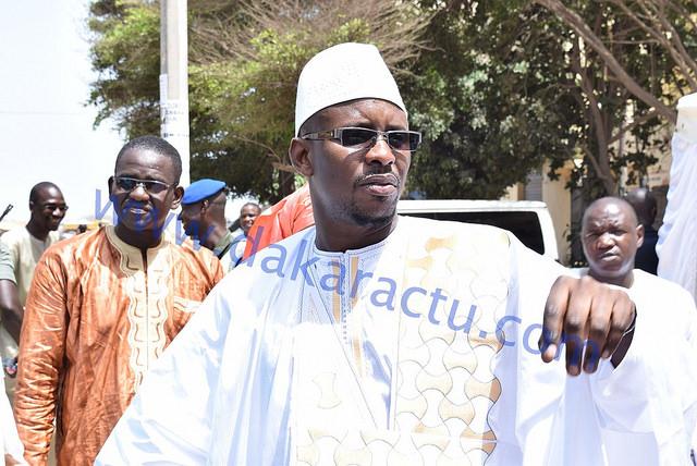 Le Maire Moustapha Diop lance l'opération pavage de la ville de Louga