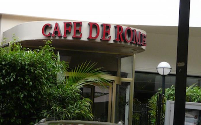 Scandale au Café de Rome : D'autres personnes arrêtées hier
