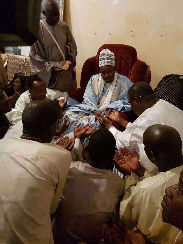 Touba : Abdoulaye Baldé et sa délégation reçus par le porte parole du khalife