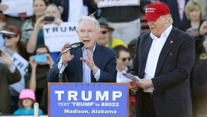 Etats-Unis : Trump nomme Jeff Sessions à la Justice et Mike Pompeo à la CIA