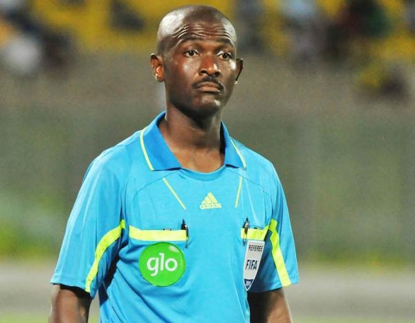 L'arbitre ghanéen Joseph Lamptey suspendu et privé de CAN 2017
