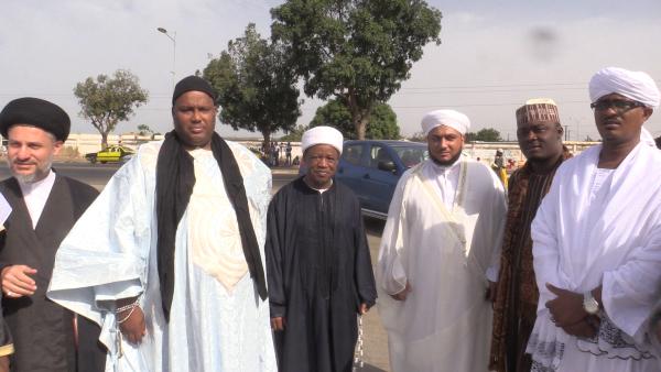 La délégation des hôtes du Grand Magal de Touba en escale à Thies