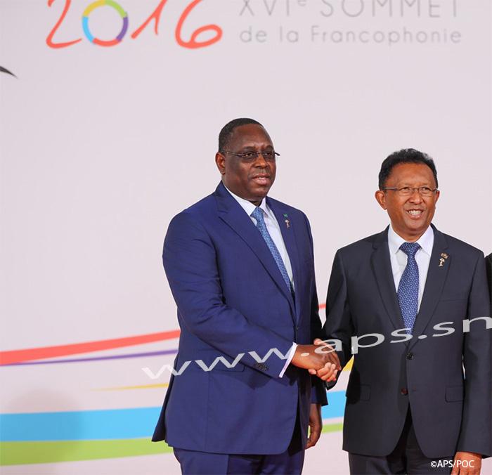 Présidence Conférence Francophonie : Le Sénégal transmet le témoin à Madagascar