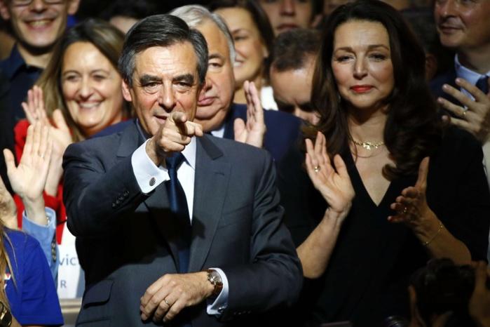 Résultat primaire de la droite : large victoire de Fillon (68,5%) selon les premiers résultats