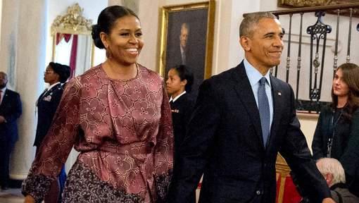 """Michelle ne sera jamais candidate"" (Barack Obama)"