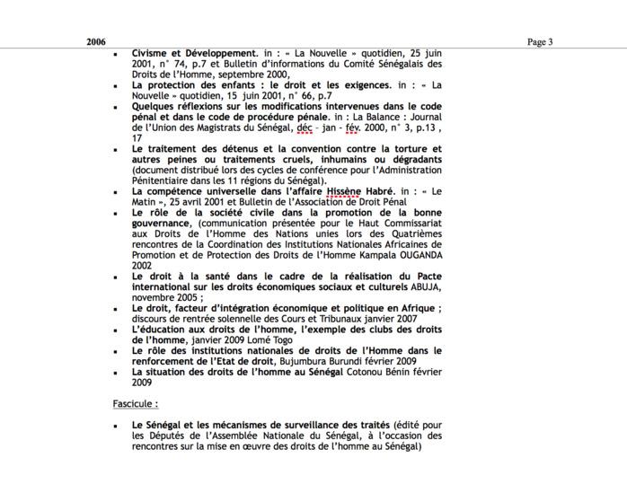 Voici le CV de Alioune Ndiaye, le nouveau Secrétaire général du ministère de la Justice