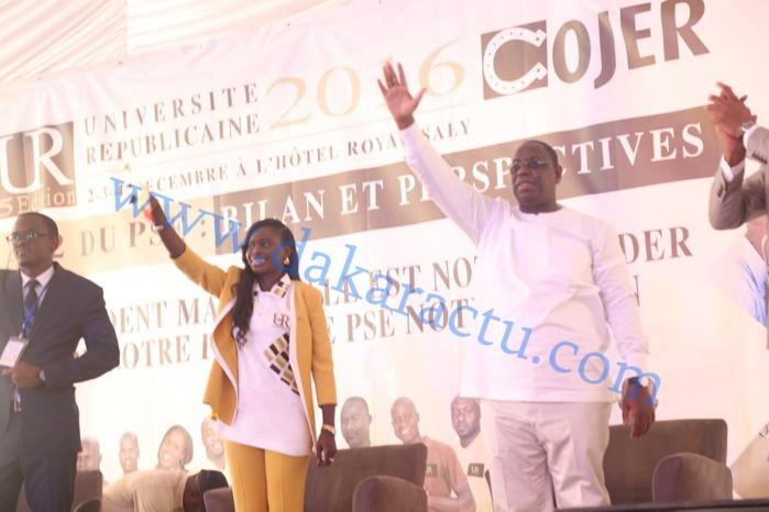 Les images de la cérémonie d'ouverture de la 5 ème édition de l'Université républicaine de la COJER