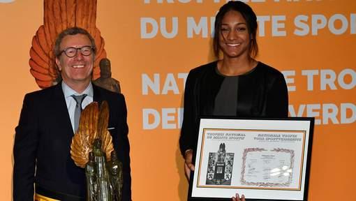 Nafissatou Thiam mise à l'honneur pour son trophée du Mérite sportif 2016