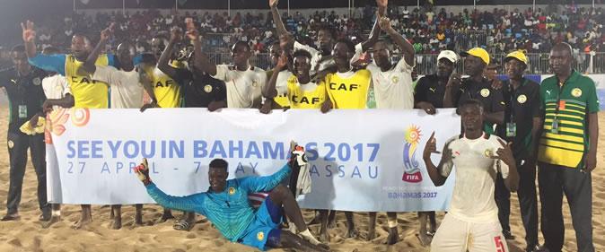 Beach Soccer : le Sénégal champion d'Afrique pour la quatrième fois