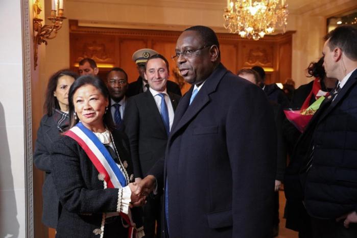 Les images de l'accueil du président Macky Sall à Paris