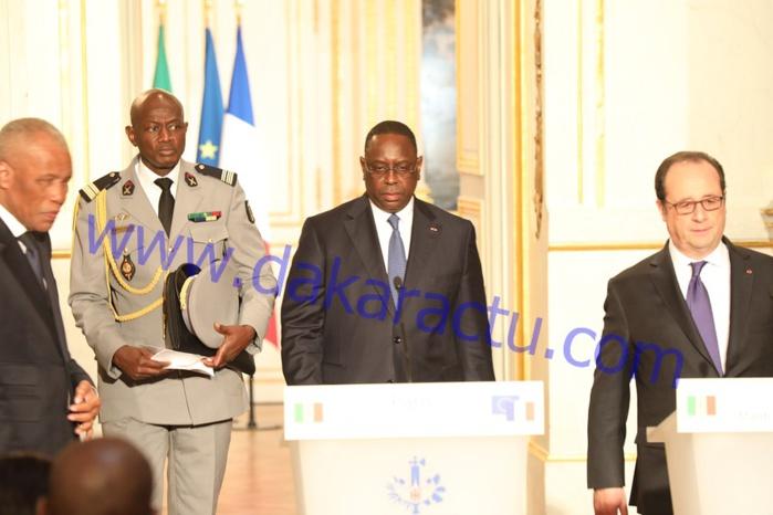PARIS : Les images de la visite de Macky Sall à L'Elysée