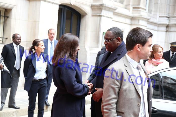FRANCE : Les images de la réception à l'honneur du président Macky Sall à la Mairie de Paris