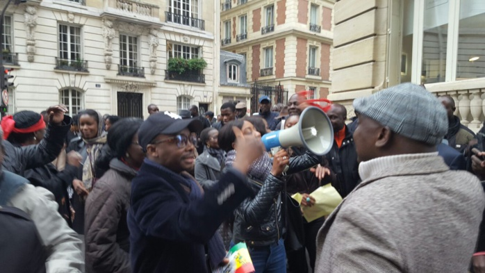MANIFESTATION CONTRE MACKY SALL À PARIS : Decroix, Mamadou Lamine Diallo et Déthié Fall débarquent pour la marche de ce mercredi