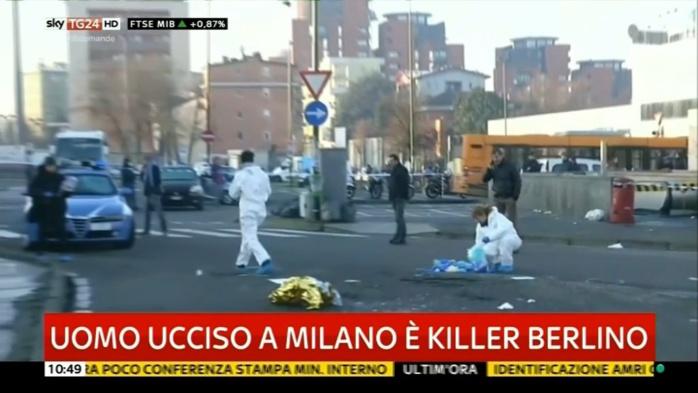 Attentat de Berlin: l'homme abattu à Milan est bien Anis Amri
