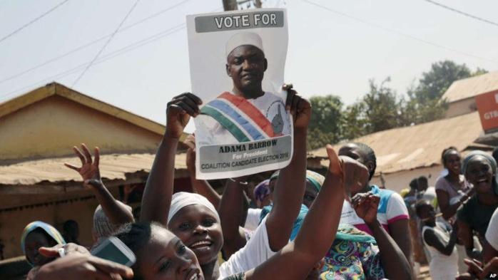 Présidentielle en Gambie : aucune Cour ne peut annuler la victoire de Barrow