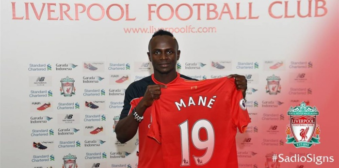 Classement des 20 maillots les plus vendus en Premier League Anglaise : Sadio Mané dans le Top 10
